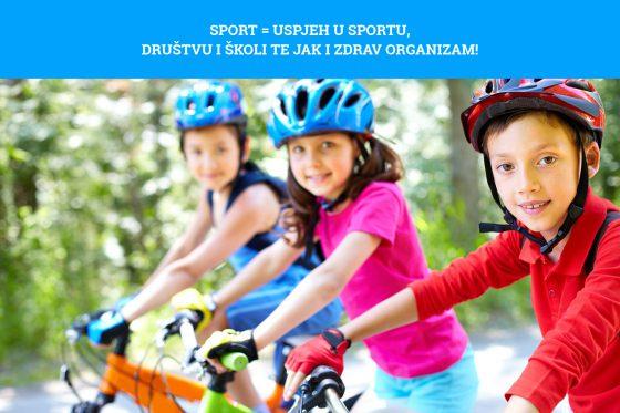 Djeca koja se bave sportom bit će uspješnija kasnije u životu